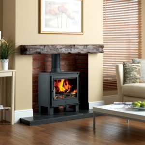 Buxton widescreen wood burner
