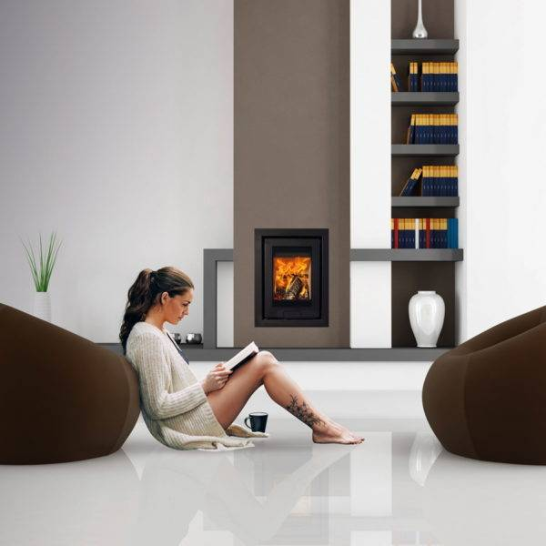 Di lusso R4 inset in chimney