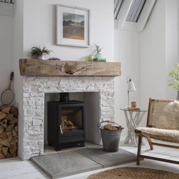 eco burn 5 in stone fireplace