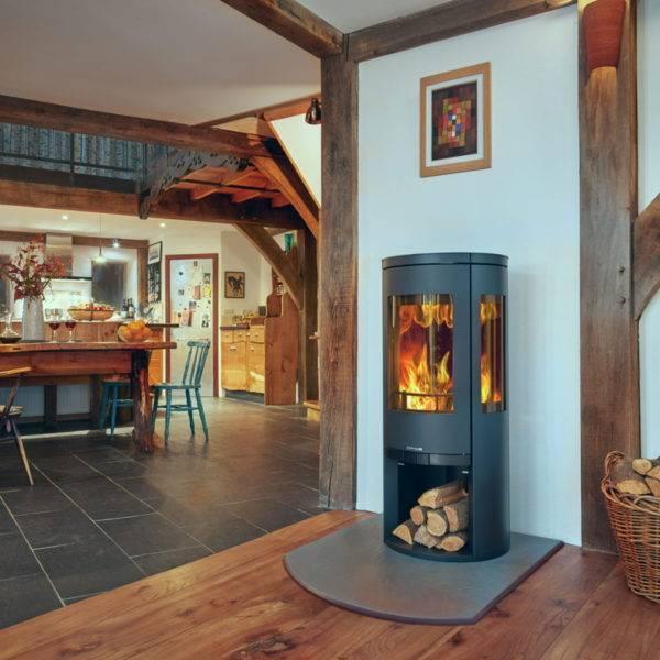 Opus-Trio circular stove