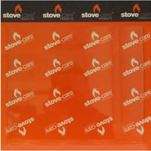 stove maintenance- stove glass